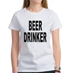 Beer Drinker (Front) Women's T-Shirt