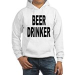 Beer Drinker (Front) Hooded Sweatshirt