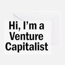 Cute Venture capitalist Greeting Card