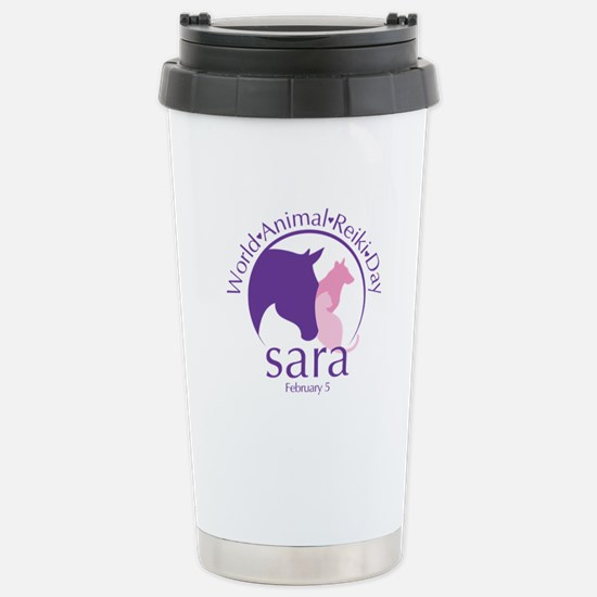 World Animal Reiki Day Travel Mug