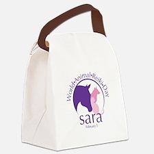 World Animal Reiki Day Canvas Lunch Bag