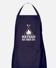 BBQ Grilling Personalized Cook Apron (dark)