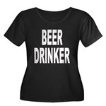 Beer Drinker (Front) Women's Plus Si