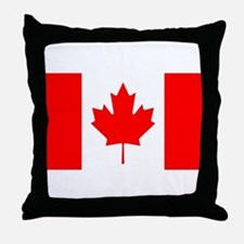 canada-flag.png Throw Pillow
