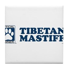 TIBETAN MASTIFF Tile Coaster