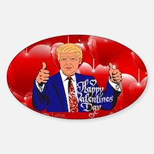 Unique Mr right Sticker (Oval)