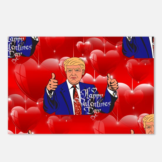 Cute Valentines day Postcards (Package of 8)