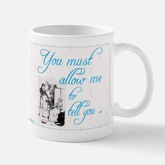 Austin Darcy Ardently Loves Elizabeth Lace Mugs