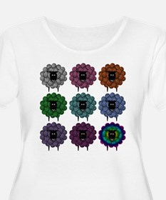 A Rainbow of Shee Plus Size T-Shirt