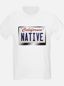 """NATIVE"" California License Plate T-Shirt"