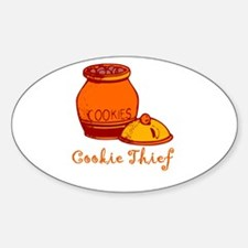 Cookie Thief Oval Decal