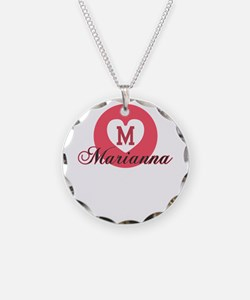 marianna Necklace Circle Charm