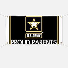 U.S. Army: Proud Parents (Star) Banner