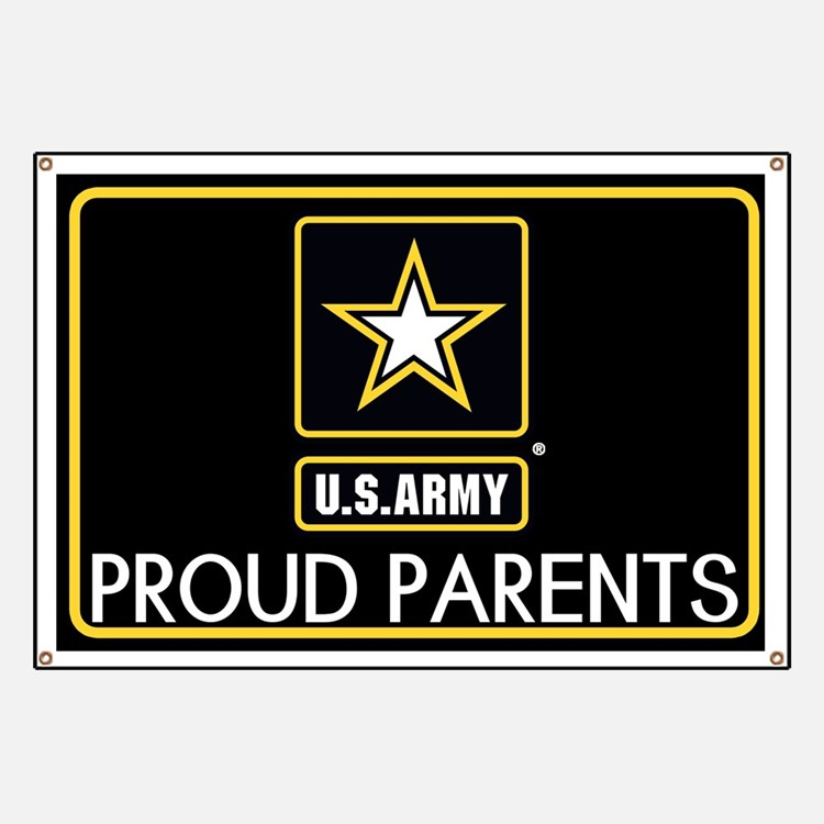 U.S. Army: Proud Parents (Star) Banner