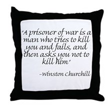 Funny Burke Throw Pillow