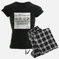 40 birthday dog years 1 Pajamas