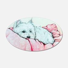 Sleepy Westie Wall Sticker