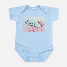 Sleepy Westie Infant Bodysuit