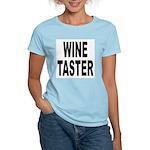 Wine Taster (Front) Women's Light T-Shirt