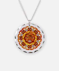 Harvest Moons Serene Sun Necklace