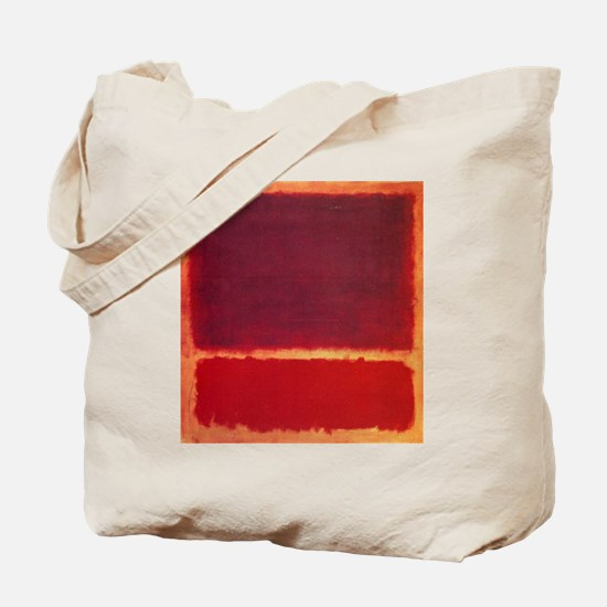 ROTHKO ORANGE RED Tote Bag