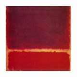 Art rothko and Tile Coasters