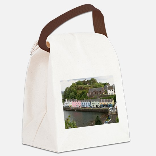 Portree, Isle of Skye, Scotland Canvas Lunch Bag