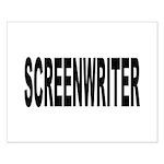 Screenwriter Small Poster