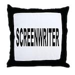 Screenwriter Throw Pillow