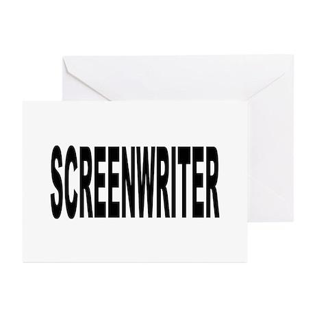 Screenwriter Greeting Cards (Pk of 20)