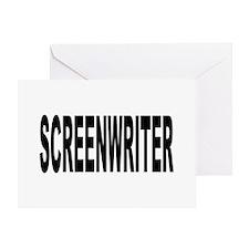 Screenwriter Greeting Card
