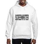 Screenwriter (Front) Hooded Sweatshirt