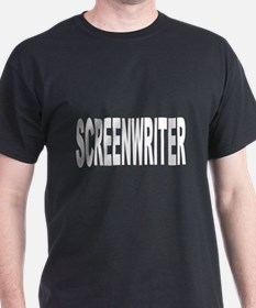 Screenwriter (Front) T-Shirt