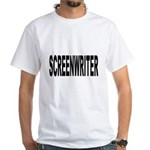 Screenwriter White T-Shirt