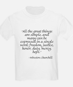 Quote 7 T-Shirt