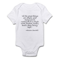 Cute Churchill Infant Bodysuit