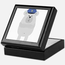 Polar Bear Police Keepsake Box
