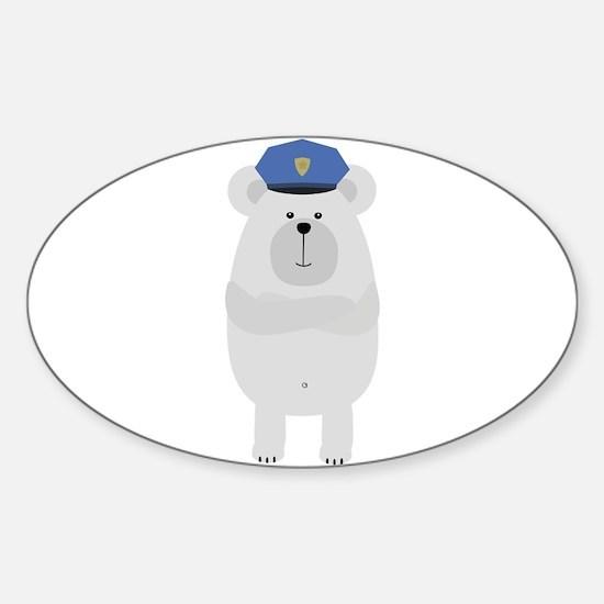 Polar Bear Police Decal