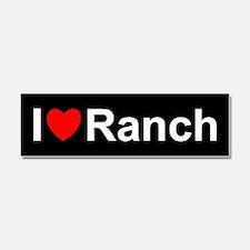 Ranch Car Magnet 10 x 3