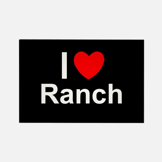 Ranch Rectangle Magnet
