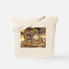 Funny Ebony Tote Bag