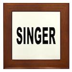 Singer Framed Tile