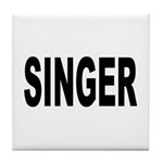 Singer Tile Coaster