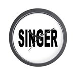 Singer Wall Clock