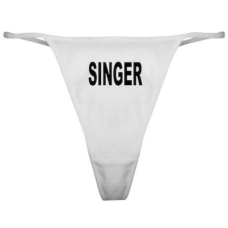 Singer Classic Thong