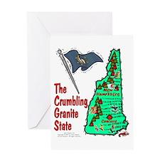 NH-Crumbling! Greeting Card