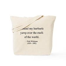 Walter Whitman 1 Tote Bag