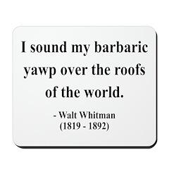 Walter Whitman 1 Mousepad