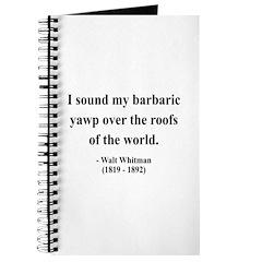 Walter Whitman 1 Journal