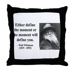 Walter Whitman 2 Throw Pillow